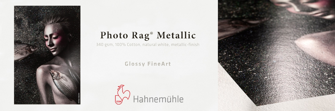 Hahnemuhle Photo Rag Metallic FineArt papír